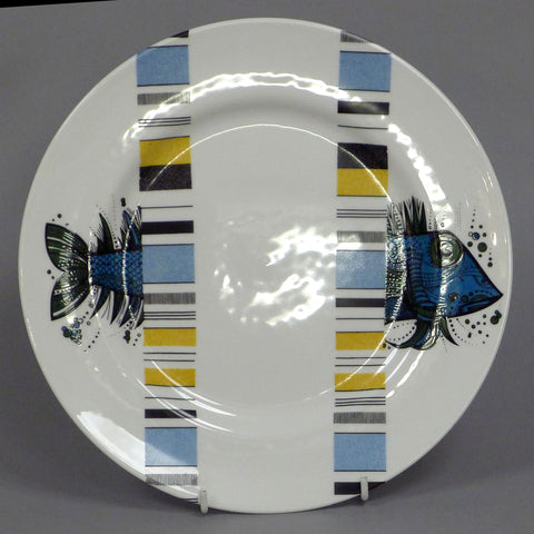 Deconstructed Willow Pattern Square Plate