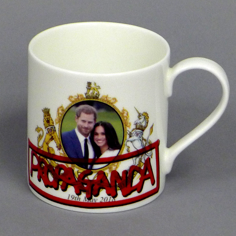 PROPAGANDA. Royal Wedding Mug. Prince Harry and Meghan Markle