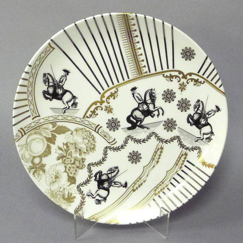 Big Spoons and Little Spoons Oval Plate