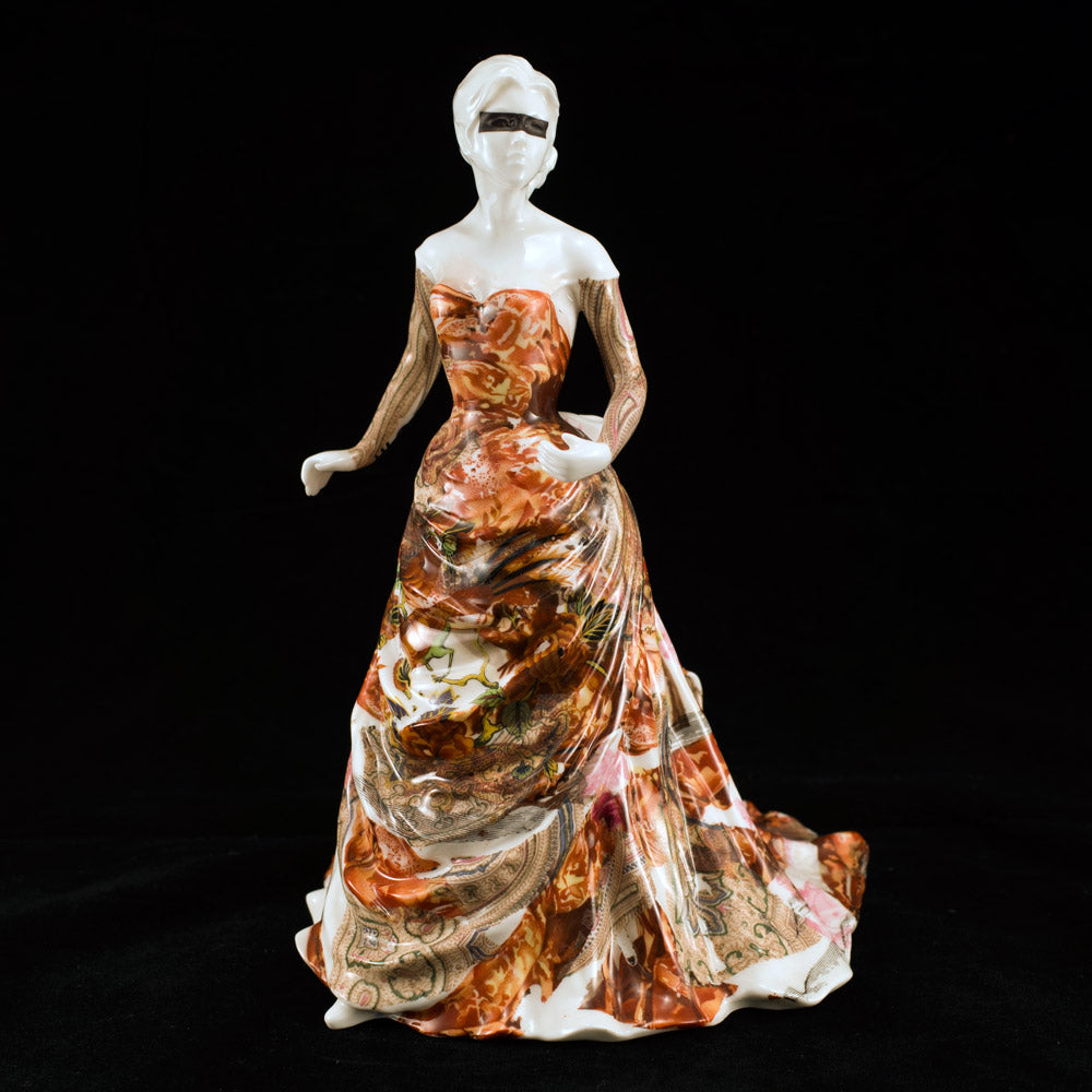 'Meat Dress' Royal Worcester Figurine