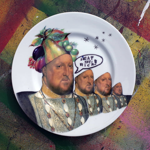 Eat the Rich Plate