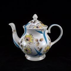 Old, New, Borrowed, Blue Teapot