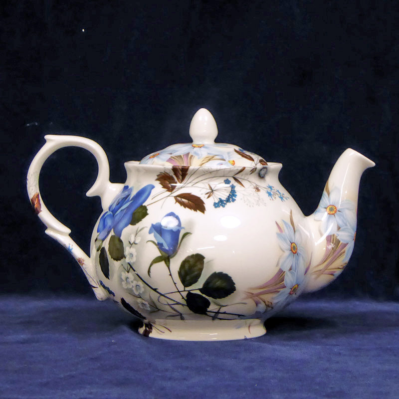 blue flower Teapot