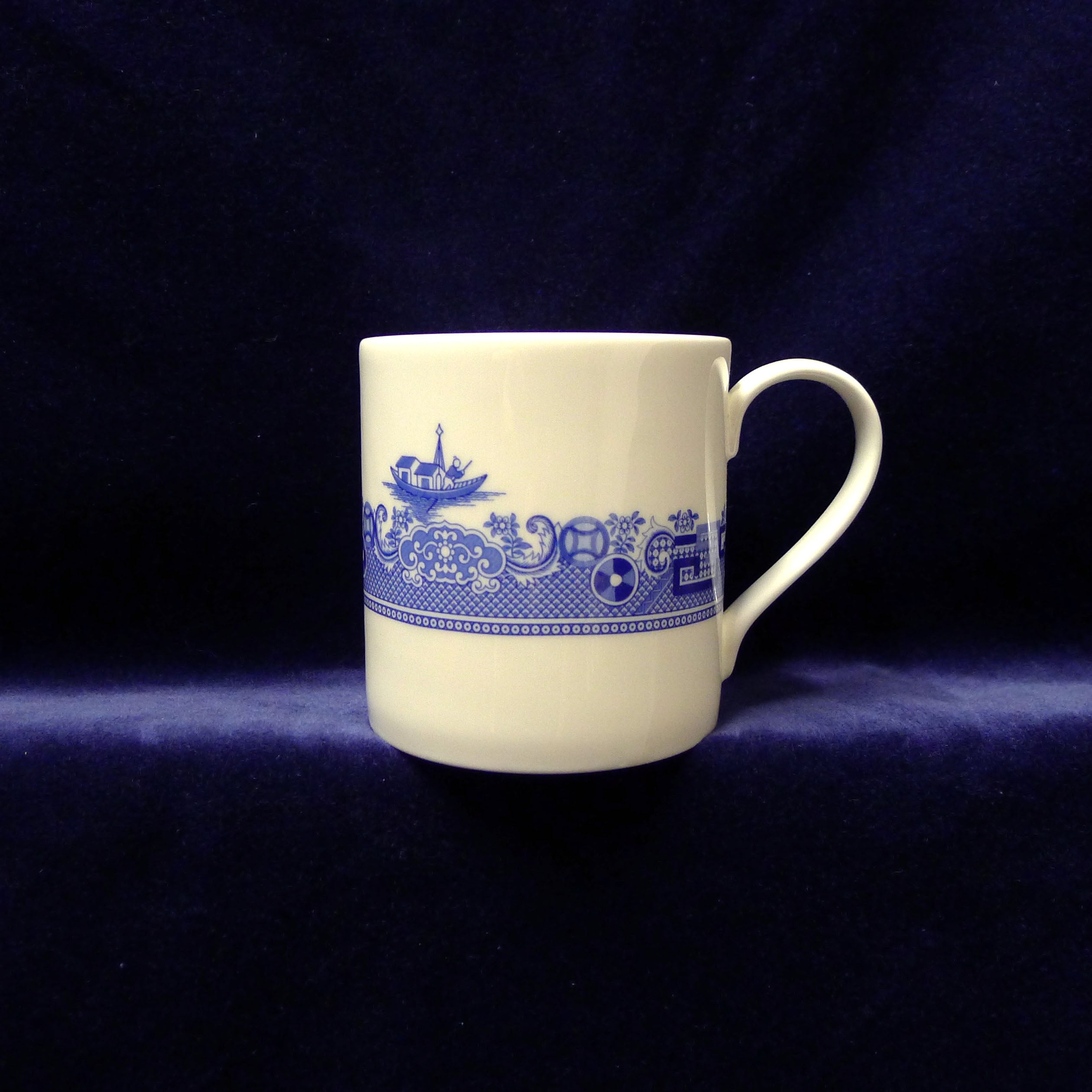 Deconstructed Willow Pattern Mug