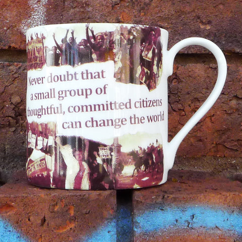 One book, one pen, ... Malala Mug