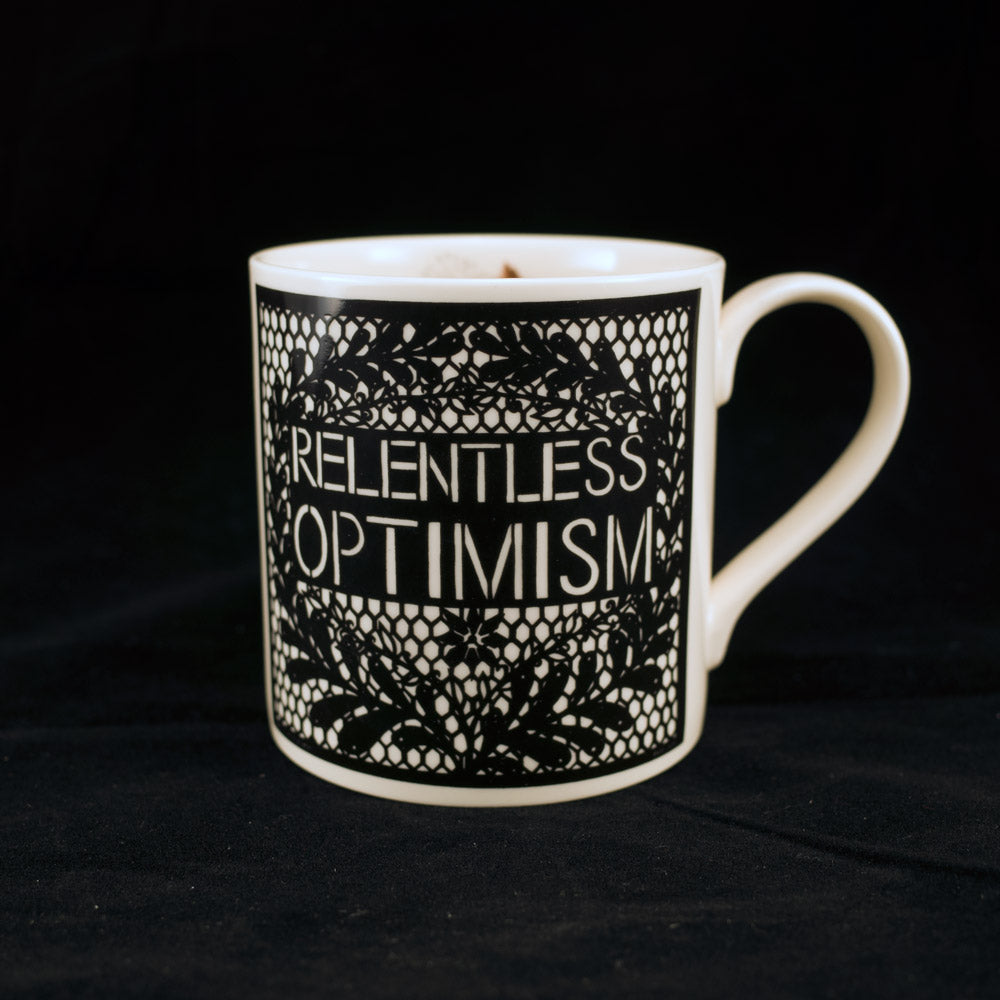 Relentless Optimism Mug