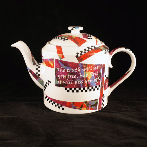 Truth Will Set You Free Teapot