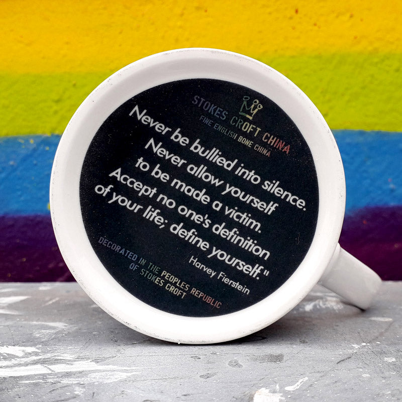 """The First Pride was a Riot"" mug"