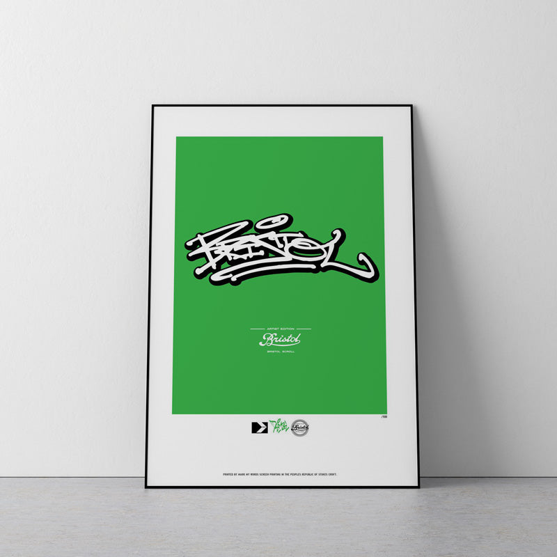 DEAMS BRISTOL SCROLL SCREEN PRINT
