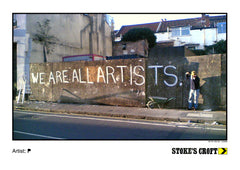 001 - We Are All Artists