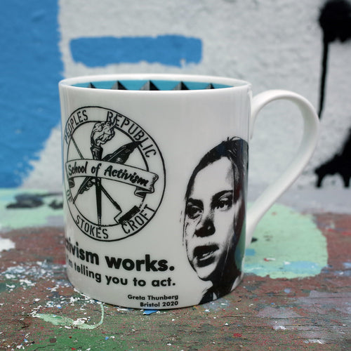 School of Activism - Greta Thunberg Mug