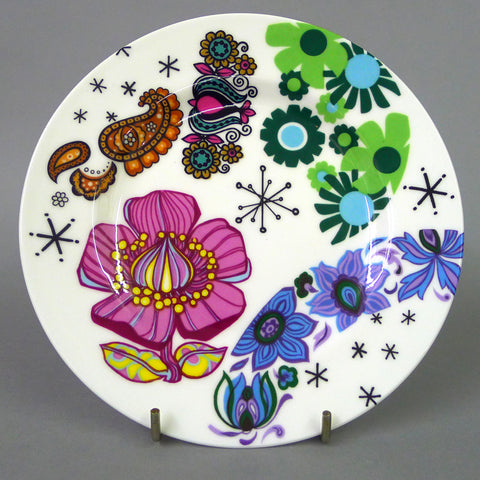 Random Floral Breakfast Cup and Saucer