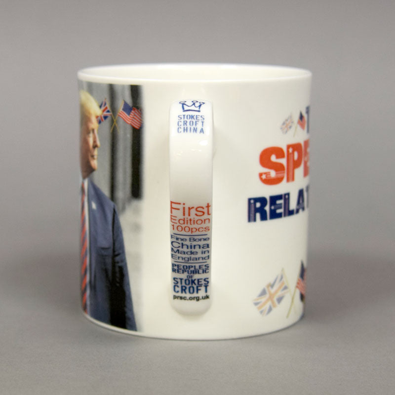 """The Special Relationship"" Donald Trump State Visit Mug"