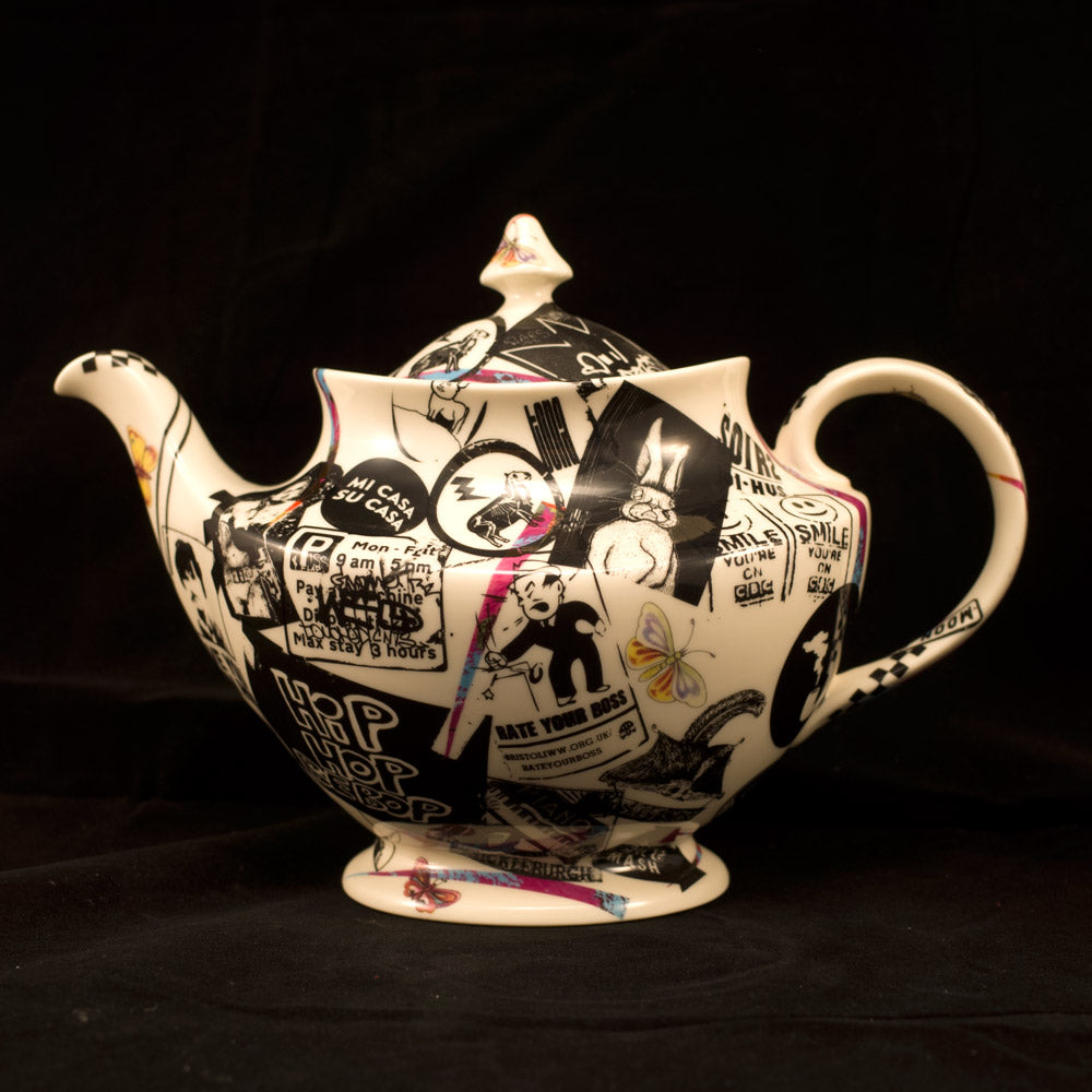 Unique Street Ware Teapot