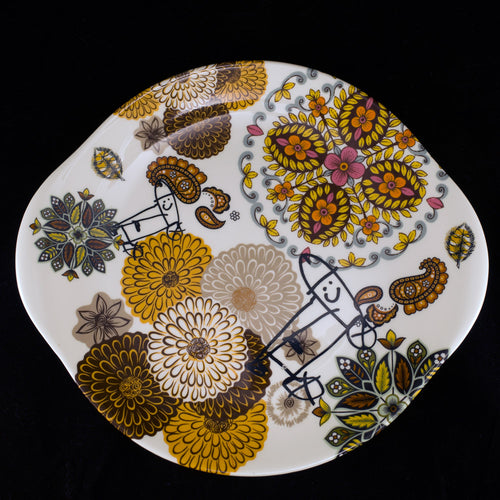 Symphony in Brown Serving Plate