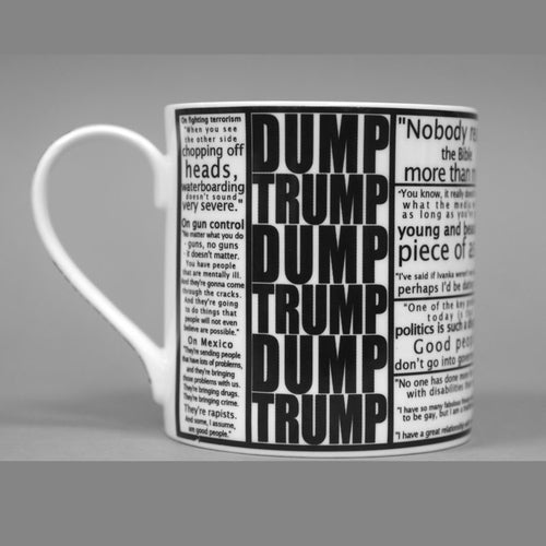 "Donald Trump Mug ""Quote Shockers"""
