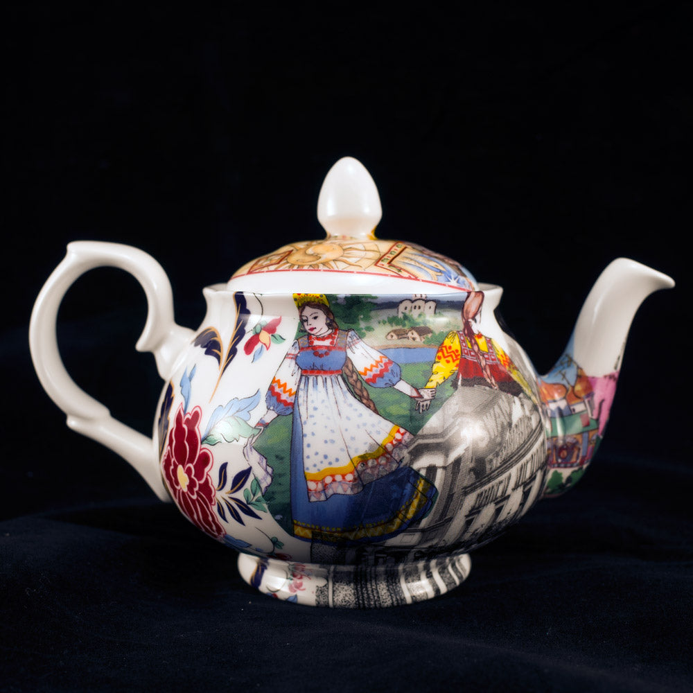 Small Unique Betty Teapot