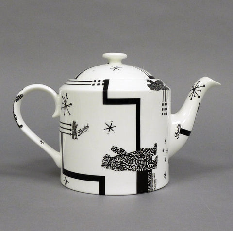 Old Skool Teapot