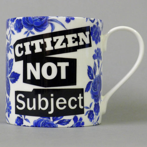 Citizen Not Subject - Blue Rose