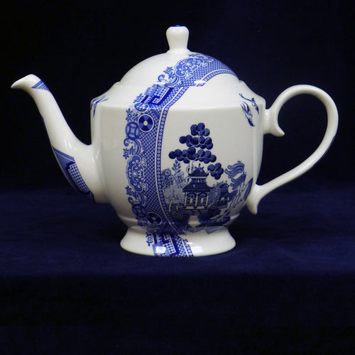 Deconstructed Willow Pattern Teapot