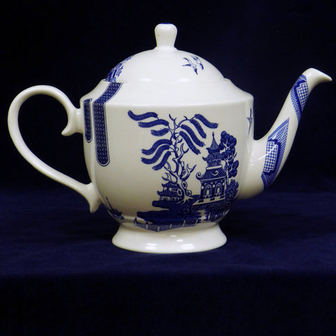 Blue Rose Betty Teapot
