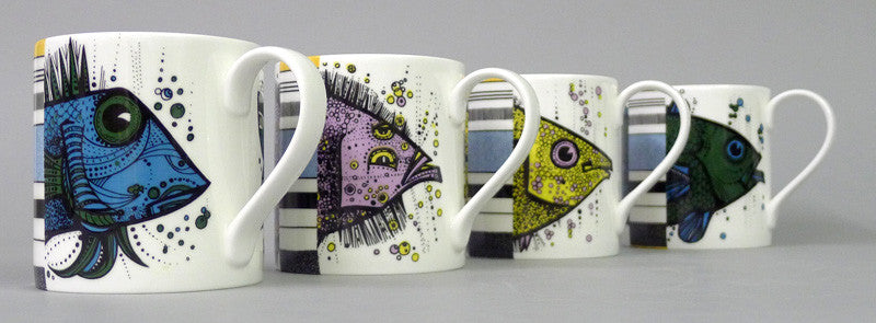 stokes_croft_china_Bristol_fine_English_bone_china_1960's flying fish mugs