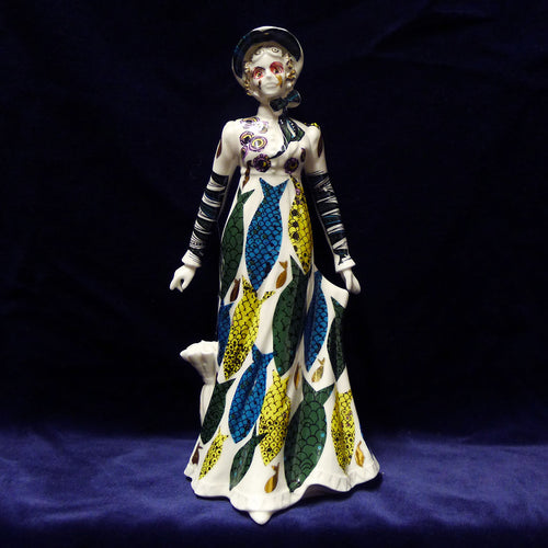 'Fish Wife' Royal Worcester Figurine
