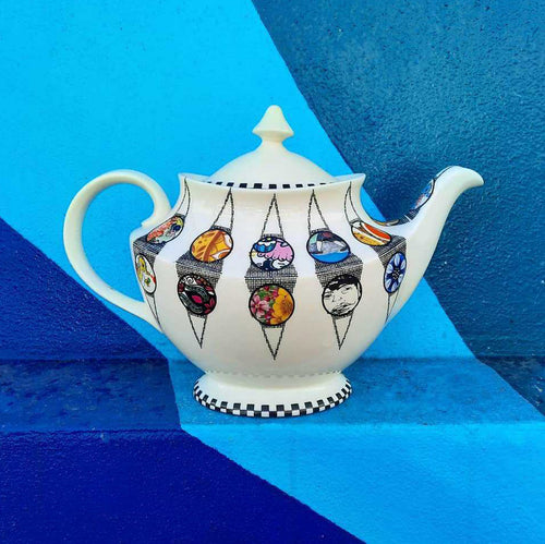Harlequin Unique Teapot
