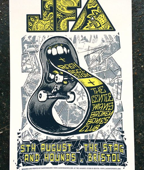 JFA at the Stag & Hounds, Bristol on 5th August 2016 by Jacknife