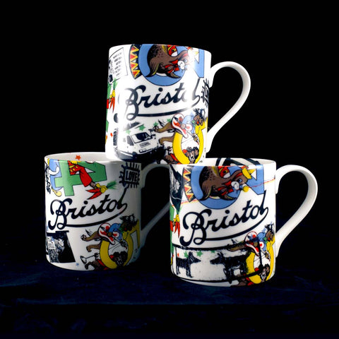 Graffiti Mural Mugs Various