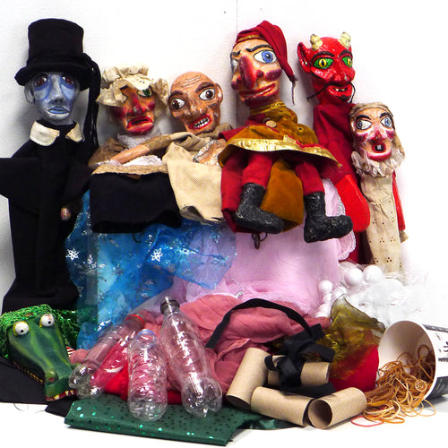 Children's Puppet Making Workshop - Ages 4-11