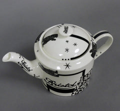 Round Stirling Teapot Bear
