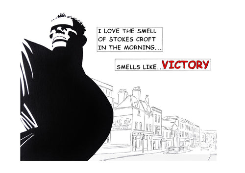 "LIMITED EDITION SCOT BURGOYNE PRINT ""SMELL OF VICTORY"""