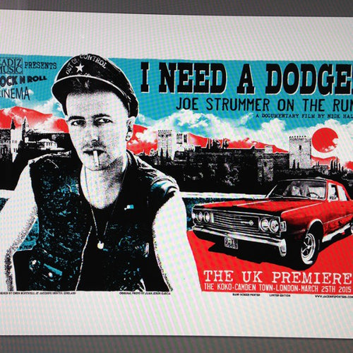 ''I Need A Dodge! Joe strummer on the run''