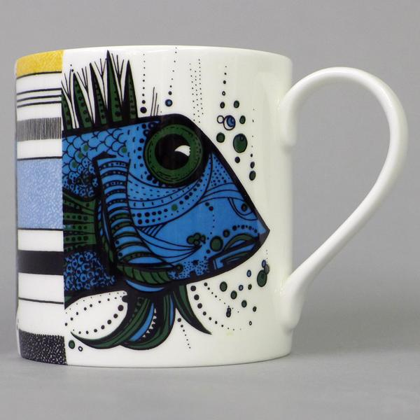 Fish Stripe Mug