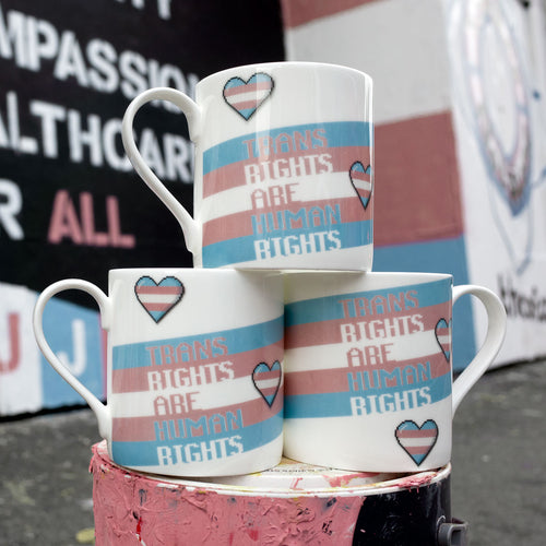 Trans Rights are Human Rights Mug