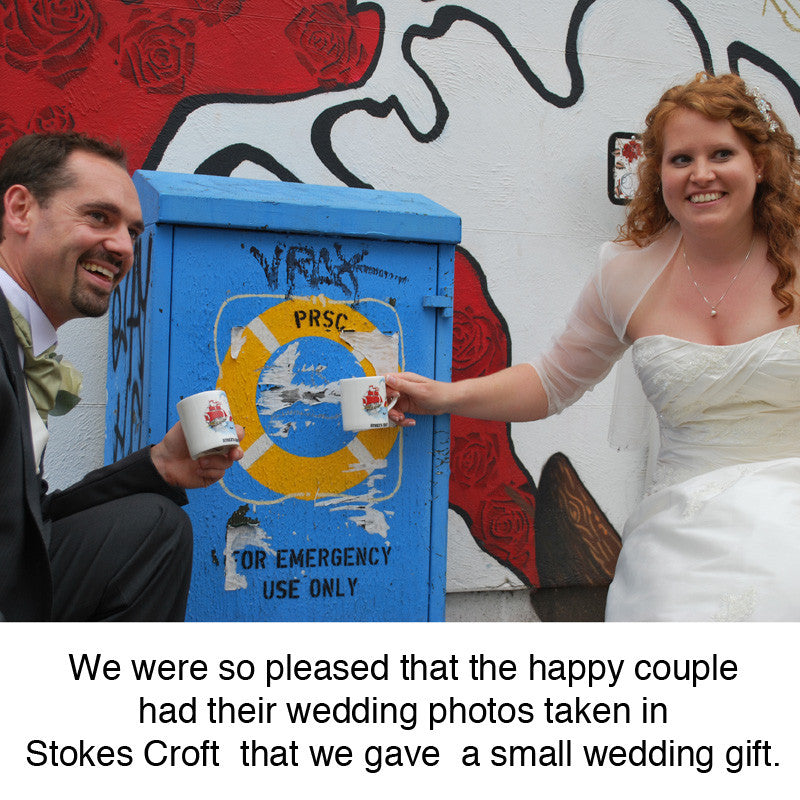 red_tsunami_Bristol_graffiti_Hillgrove_Street_wedding_pic