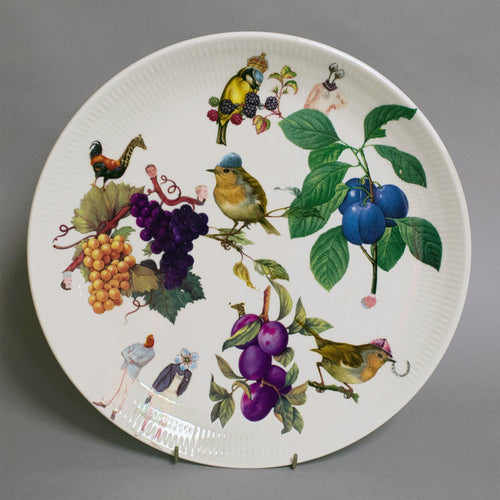 Robin Hat Plate