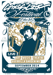 S.C. FESTIVAL OF THE ARTS SCREEN PRINT