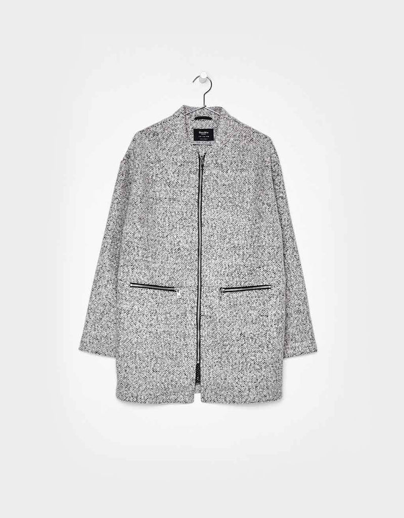 Light Felt Coat