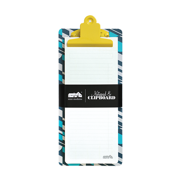 Portico - Mini Moderns - Notepad & Clipboard