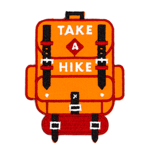 These Are Things - Take A Hike Embroidered Iron-On Patch