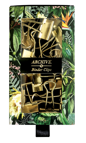 Portico - Archive - Binder Clips (Set of 15)