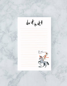 Idlewild - Do It To It Notepad