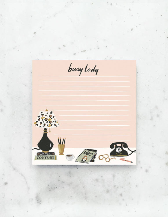 Idlewild - Busy Lady Notepad