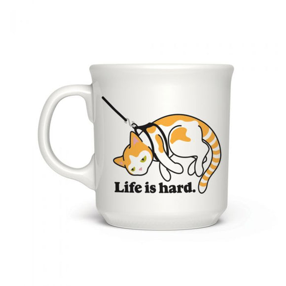 Fred - Say Anything Mug - Life is Hard