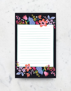 Idlewild - Coral Floral Notepad