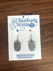 Daisy Fine Silver Earrings