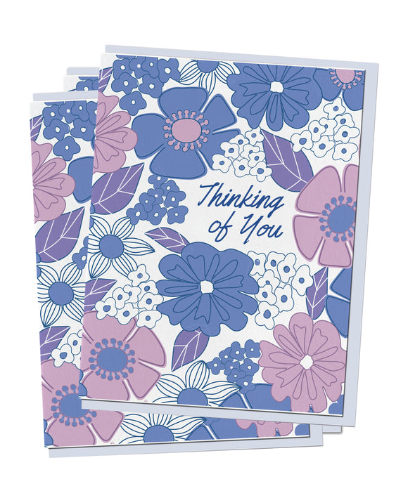 Moody Flowers Stationery