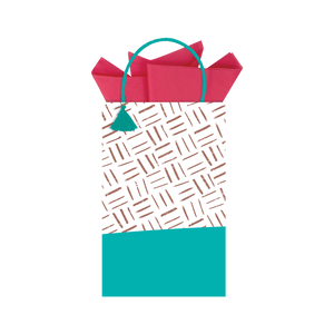 Gold & Teal Gift Bag GWC